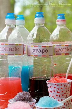 {Homemade Snow Cone Syrup}