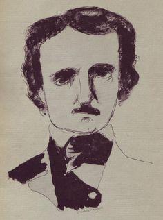 Kauffer McKnight 1946 http://50watts.com/E-McKnight-Kauffer-s-Poe-illustrations