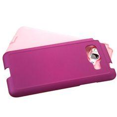 MYBAT Samsung Galaxy Grand Prime Dual Armor Case - Purple/Pink