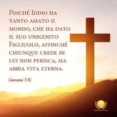 Dio ha dato tutto il Suo amore all'umanità Blessed, Bible, Poster, 3, Searching, Saints, Dios, Christians, Messages