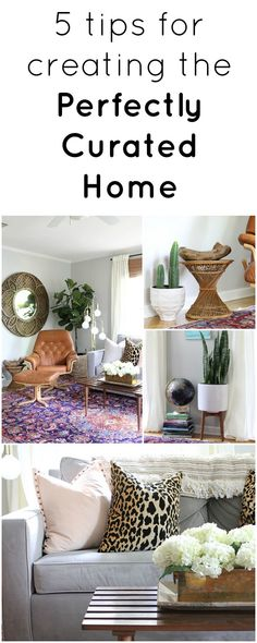 How to Create a Curated Home