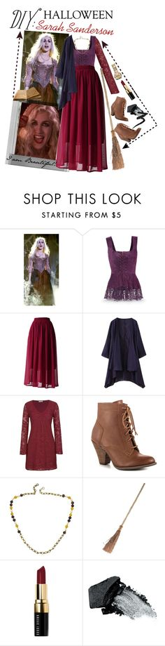 """""""DIY: Sarah Sanderson"""" by jobrogirl1995 ❤ liked on Polyvore featuring Polaroid, Chicwish, maurices, Mojo Moxy, Chanel, Bobbi Brown Cosmetics, Gorgeous Cosmetics and Manic Panic"""