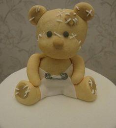 Cute Teddy Bear  Cake by Christine Jones