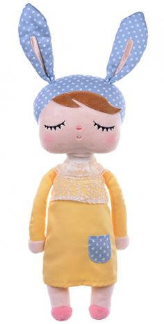 Lalka Metoo w żółtej sukience