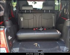 3rd row in jeep