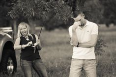 engagement photography   Hook, Line, and Sinker!  #fishing #engagements #photos