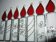 Stained Glass Christmas Ornaments   Shattered by Light #StainedGlassLight