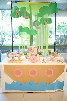 Pastel Noah's Ark Christening Party {Planning, Ideas, Decor, Styling}