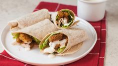 Crispy Chicken Caesar Wraps McCormick Crispy Chicken Tenders Seasoning Mix makes the chicken in these ceasar wraps crunchy and full of flavor. Perfect for lunch or dinner. Crispy Chicken Wraps, Crispy Chicken Tenders, Chicken Wrap Recipes, Turkey Recipes, Chicken Meals, Grilled Chicken, Chicken Ceasar, Chicken Caesar Wrap, Mccormick Recipes