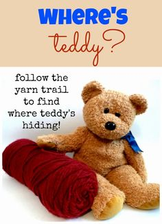 Munchkins and Moms: Where's Teddy? A Hide and Seek Game for Pre-Schoolers Bears Preschool, Toddler Preschool, Preschool Activities, Preschool Curriculum, Preschool Classroom, Kindergarten, Teddy Bear Crafts, Teddy Bear Day, Teddy Bears
