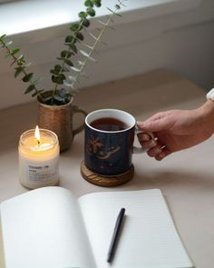 A quiet moment nestled amongst all the holiday hustle and bustle. Quiet Moments, Bustle, Candle Jars, In This Moment, Mugs, Studio, Holiday, Relax, Instagram