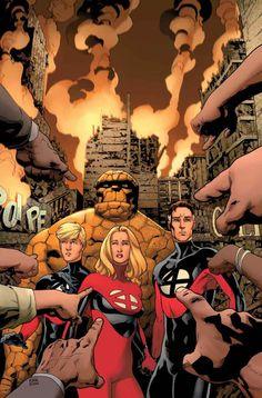 Fantastic Four •Leonard Kirk
