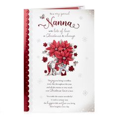 Christmas Card - To A Very Special Nanna | Card Factory