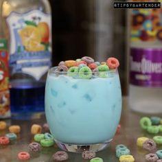 The Fruit Loop #drinks #cocktails #fruit #vodka #cereal #breakfast #tipsybartender