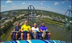 Mako Coaster Now Open at SeaWorld! Orlando's tallest, fastest and longest roller coaster has surfaced at SeaWorld. It lives up to its hypercoaster name, too!