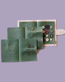 Felt Sewing Book | Step-by-Step | DIY Craft How To's and Instructions| Martha Stewart