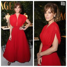 """23 curtidas, 2 comentários - Who Wore What (@whoworewhat) no Instagram: """"Kate Beckinsale in Basil Soda at the Piaget and Weinstein Company Film Independent Spirit Awards…"""""""