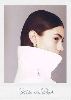 Need these Mise en Dior tribal earrings!