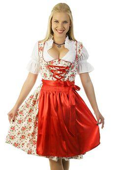 Dirndl/Trachtenkleid für Feierlichkeiten, Volksfeste, Oktoberfest, Wiesn