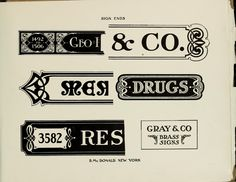 Henderson's Sign Painter, 1906 ... complete book at link