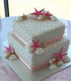Sea Shells Cake ~ so pretty!