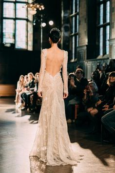 Inbal Dror Fall 2015 / Wedding Style Inspiration / LANE. See full collection review on The LANE http://thelane.com/the-guide/fashion/bridal/inbal-dror-fall-2015