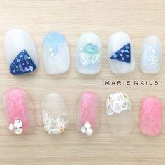#マリーネイルズ #ネイル #kawaii #kyoto #ジェルネイル #ネイルアート #swag #marienails #ネイルデザイン #naildesigns #trend #nail #toocute #pink #nails #ファッション #naildesign #ネイルサロン #beautiful #nailart #tokyo #fashion #ootd #nailist #ネイリスト #gelnails #大人ネイル #ショーネイル #フラワーネイル #blue
