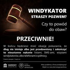 Skierowanie przez firmę windykacyjną sprawy na drogę sądową, to często najlepszy sposób na ostateczne uwolnienie się od długu. Pozew o zapłatę wcale nie oznacza, że sprawa jest już przegrana. Wręcz przeciwnie! --- Prawo, Radca prawny, Adwokat, Dług, Nakaz zapłaty, Sprzeciw od nakazu zapłaty, Windykacja, Bank, Finanse, Kredyt, Komornik, Windykator, Prawo Cywilne, Darmowy Prawnik, Egzekucja komornicza, Sądowy nakaz zapłaty. I Know, Hand Lettering, Business, Inspiration, Historia, Biblical Inspiration, Handwriting, Store, Calligraphy