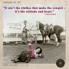 Cowgirl philosophy