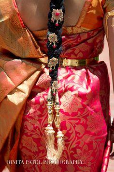 South Indian Bridal Sari....This is for you @Urvi Sheth Sheth Patel