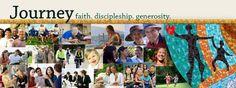 "AN IDEA: One congregation's newsletter that focuses on Generosity. ""Journey: Faith, Discipleship, & Generosity."" Journey, Faith, The Journey, Loyalty"