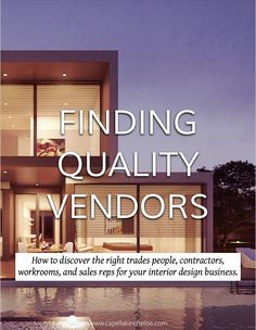 How To Discover The Right Trades People, Contractors, Workrooms, And Sales  Reps For