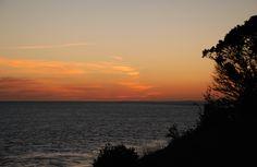 Pointe de Suzac  #saintgeorgesdedidonne #royan #estuaire #sunset #couchédesoleil #sky #parcdelestuaire #falaise #charentemaritime #mer #océan #sea