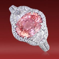 JB Star padparadscha ring