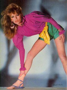 "Vogue US January 1981 ""New Signals…From Paris"" Model: Patti Hansen  ph: Chris Von Wangenheim"