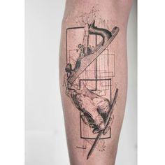 """1,963 """"Μου αρέσει!"""", 22 σχόλια - Mowgli (@mowgli_artist) στο Instagram: """"'Adroit' by Mowgli  Mowgli #mowgliartist #tattoo #tattoos #hand #carpentry #graphical…"""""""
