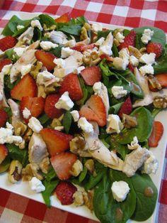 METABOLISM BOOSTING Strawberry Salad