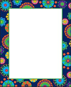 - Mod Circles Chart, Create a coordinated classroom with these designer charts! Borders For Paper, Borders And Frames, Butterfly Classroom Theme, Page Borders Free, Owl Clip Art, Birthday Frames, Frame Background, Album Photo, Floral Border