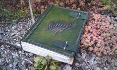 wiccania huge grimoire spellbook by BalmoraLeathercraft on DeviantArt Deviantart