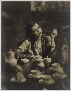 Fortune-teller * Reading tea leaves * Tasseography