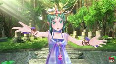 Tiki in shin megami tenseixfire emblem. She looks younger here than in FE:A