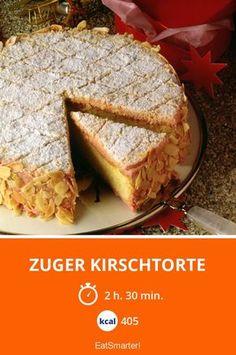 Zuger Kirschtorte - smarter - Kalorien: 405 kcal - Zeit: 2 Std. 30 Min. | eatsmarter.de