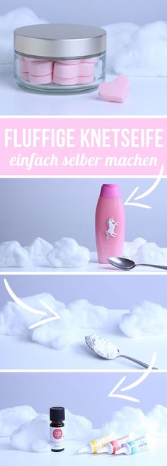 Knetseife selber machen – DIY Knet Seife – Waschknete basteln mit Kindern – Geschenkideen Making dough yourself – DIY kneading soap – Washing dough tinker with children – Gift ideas Diy For Teens, Diy For Kids, Diy Kids Room, Diy Gifts For Christmas, Wallpaper World, Belleza Diy, Shower Jellies, How To Make Dough, Nails Polish