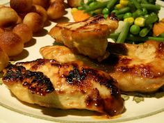 Easy Honey Mustard Chicken