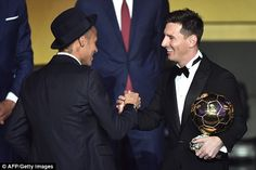 Ballon d'Or 2015 winner: Lionel Messi beats Cristiano Ronaldo and Neymar in Zurich | Daily Mail Online