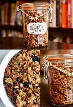Salty Olive Oil Granola | 24 Delicious Food Gifts That Will Make Everyone Love You