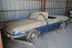 1970 Fiat 850 Spider Barn Find