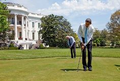 With Barack Obama securing a comfortable-ish victory in the US Presidential Election we at Your Golf Travel are glad to have a golfing president in the White House. After all, who would use the putting green outside of the Oval Office if the non golfing Mitt Romney would have been elected?!