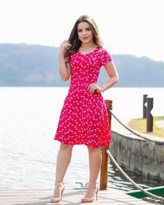 Girls In Mini Skirts, Office Outfits, Dress Sandals, Top Croped, Frocks, Casual Wear, Plus Size Fashion, Ideias Fashion, Dresses For Work