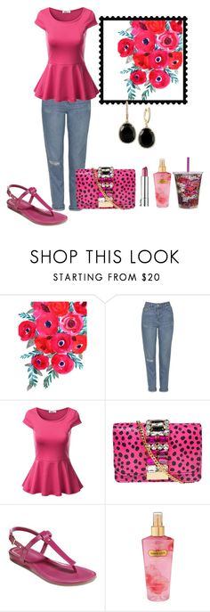 """Untitled #3110"" by empathetic ❤ liked on Polyvore featuring Topshop, J.TOMSON, GEDEBE, Cole Haan, Vera Bradley, Victoria's Secret and Effy Jewelry"